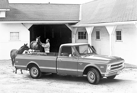 1967 Chevrolet Custom Pick-Up Truck - Promotional Photo Poster