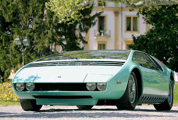 1968 Bizzarrini Manta 12  Concept Car - Promotional Photo Poster