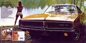 1969 Dodge Charger - Promotional Advertising Poster
