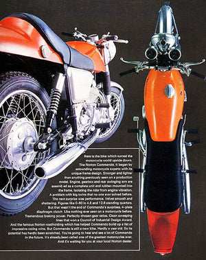 1969 Norton Commando 750 Fastback - Promotional Advertising Magnet