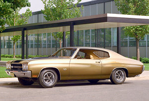 1970 Chevelle SS Sport Coupe - Promotional Photo Poster