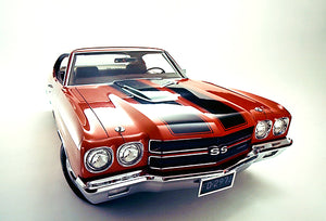 1970 Chevrolet Chevelle SS 396 - Promotional Photo Poster