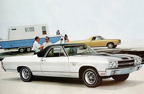 1970 Chevrolet El Camino SS - Promotional Photo Poster