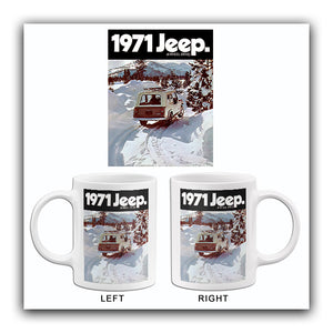 1971 Jeep Jeepster Commando - Promotional Advertising Mug