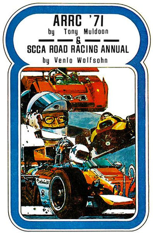 1971 American Road Race of Champions Annual - Cover Magnet