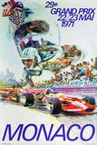 1971 Monaco Grand Prix - Promotional Race Poster