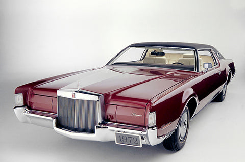 1972 Lincoln Continental Mark IV - Promotional Photo Poster