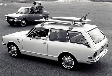 1972 Toyota Corolla 1600 Wagon - Promotional Photo Poster