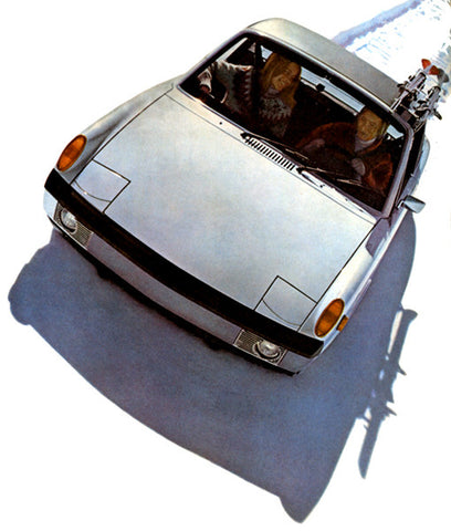 1973 Porsche 914 - Promotional Advertising Poster