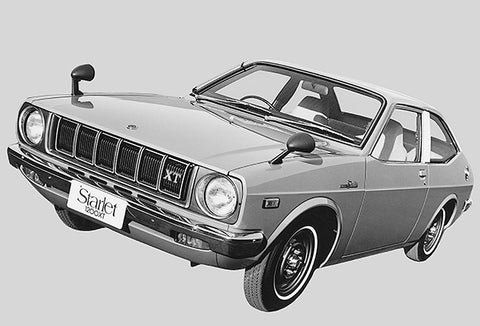 1973 Toyota Starlet 1200XT - Promotional Photo Poster