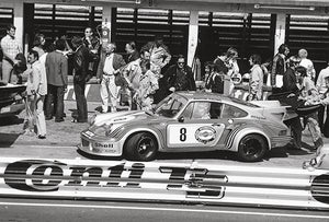 1974 Porsche 911 Carrera RSR Turbo - Nurburgring - Promotional Photo Magnet