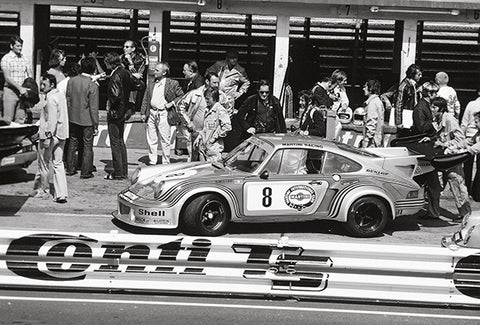 1974 Porsche 911 Carrera RSR Turbo - Nürburgring - Promotional Photo Poster