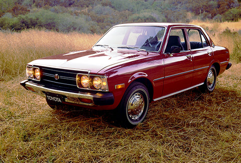 1974 Toyota Corona Sedan - Promotional Photo Poster