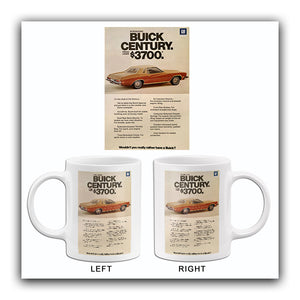 1975 Buick Century - Promotional Advertising Mug