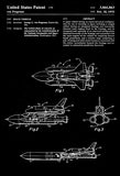 1975 - Space Vehicle - G. L. von Pragenau - Patent Art Poster