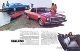 1975 Chevrolet Chevelle Malibu - Promotional Advertising Magnet