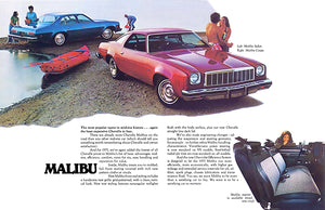 1975 Chevrolet Chevelle Malibu - Promotional Advertising Poster