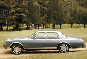 1977 Chevrolet Caprice Classic Sedan - Promotional Photo Poster