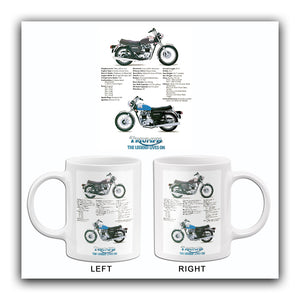 1978 Triumph Bonneville 750 - Promotional Advertising Mug