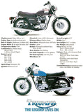 1978 Triumph Bonneville 750 - Promotional Advertising Poster