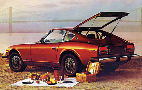 1979 Datsun 280 ZX - Promotional Advertising Poster