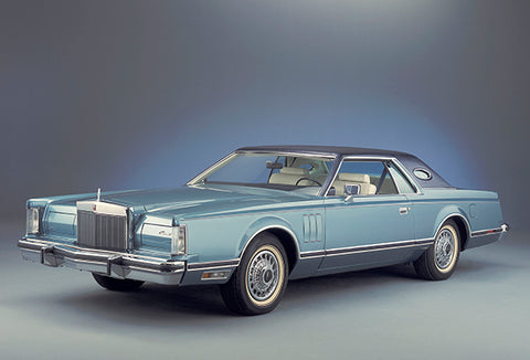 1979 Lincoln Continental Mark V - Promotional Photo Poster