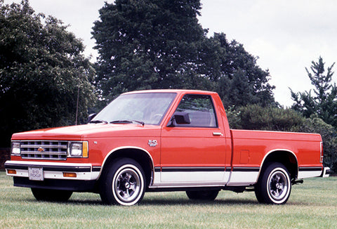 1982 Chevrolet S-10 Sport Pick-Up - Promotional Photo Poster