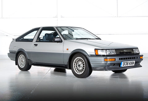 1986 Toyota Corolla Coupe - Promotional Photo Poster