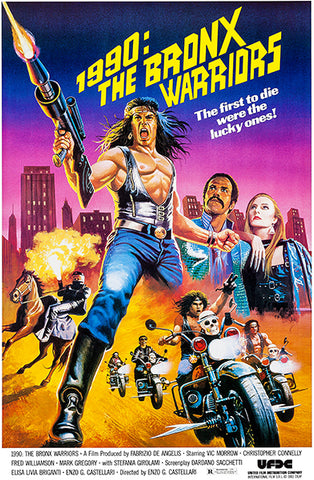 1990: The Bronx Warriors - 1982 - Movie Poster