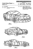 1995 - Chrysler Dodge Viper - Automobile - R. N. Hubbach - Patent Art Mug