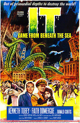 It Came From Beneath The Sea - 1955 - Movie Poster