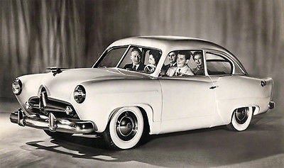1950 Kaiser Henry J - Promotional Advertising Poster