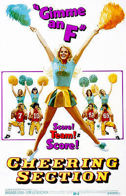Cheering Section - 1977 - Movie Poster