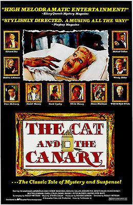 The Cat And The Canary - 1978 - Movie Poster