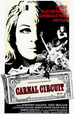 Carnal Circuit - 1969 - Movie Poster