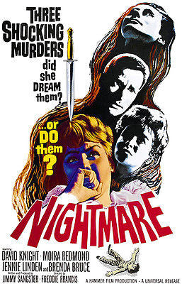 Nightmare - 1964 - Movie Poster