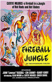 Fireball Jungle - 1968 - Movie Poster