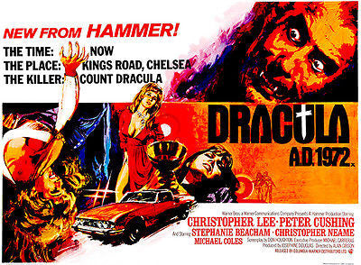 Dracula AD 1972 - 1972 - Movie Poster