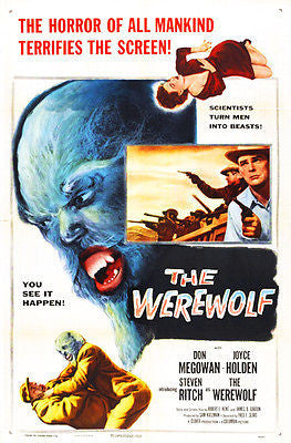 The Werewolf - 1956 - Movie Poster
