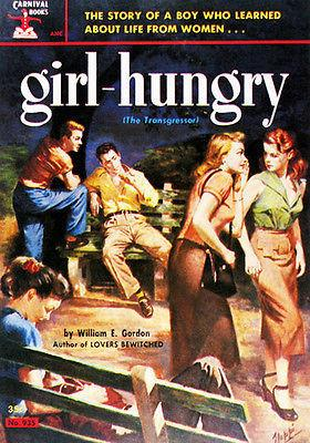 Girl Hungry - 1952 - Pulp Novel Cover Mug