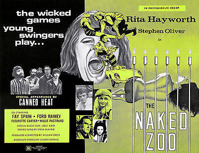 The Naked Zoo - 1970 - Movie Poster