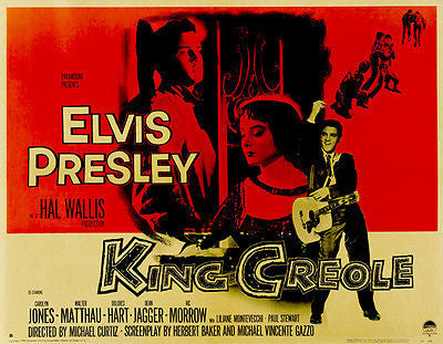 King Creole #2 - 1958 - Movie Poster