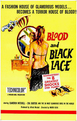 Blood And Black Lace - 1964 - Movie Poster