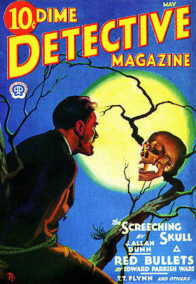 Dime Detective - May 1932 - Magazine Cover Poster