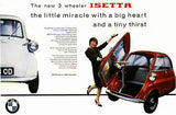 1964 BMW Isetta - Promotional Advertising Poster