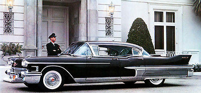 1958 Cadillac Fleetwood - Promotional Advertising Poster