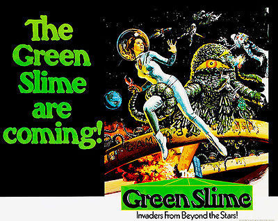 The Green Slime - 1968 - Movie Poster