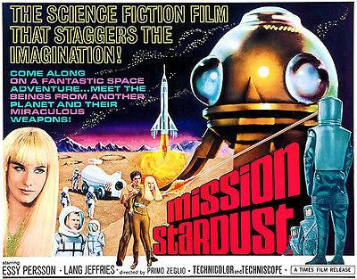 Mission Stardust - 1967 - Movie Poster Mug