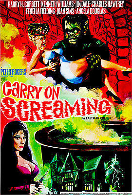 Carry On Screaming - 1966 - Movie Poster