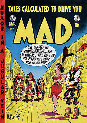 MAD Magazine #9 - March 1954 - Cover Poster